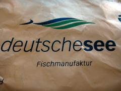 Verpackung der 'Deutschen See-Fischmanufaktur.'