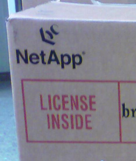 Verpackung Netapp Filer