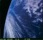 Bild der Erde aus dem Weltraum