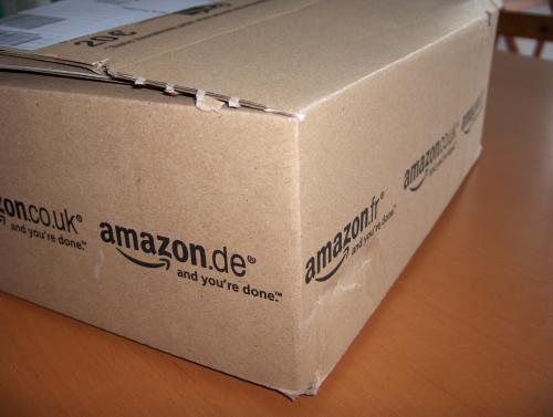 Karton von Amazon