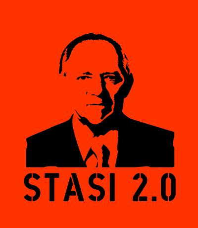 Wolfgang Schaeuble: Stasi 2.0