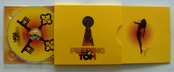 Plattencover von Peeping Tom, vollständig ausgezogen